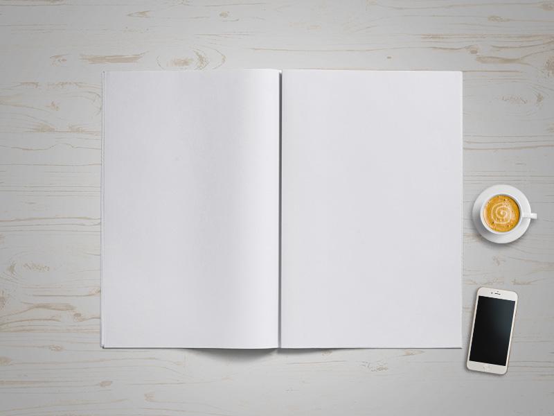 комплекс услуг мокап открытоко журнала похоронили