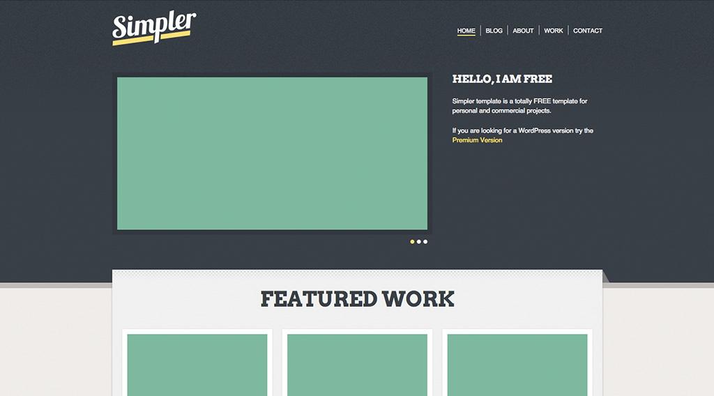 Создание простого шаблона сайта создание входа на почту на сайте