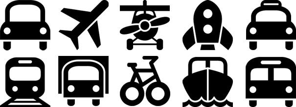 Белые иконки для меню сайта - f14be